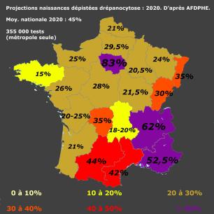 Projection drépanocytose 2020