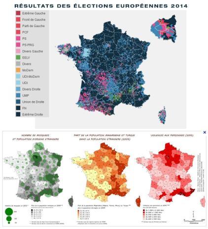 Cartes GR Européennes