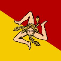 Drapeau Sicile